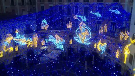 illuminazione di salerno d artista salerno il dio nettuno dominer 224 piazza gioia