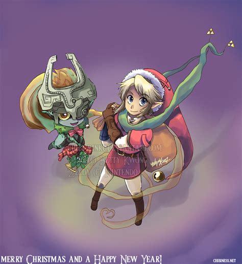 zelda wallpaper christmas zelda merry christmas 2007 by bettykwong on deviantart