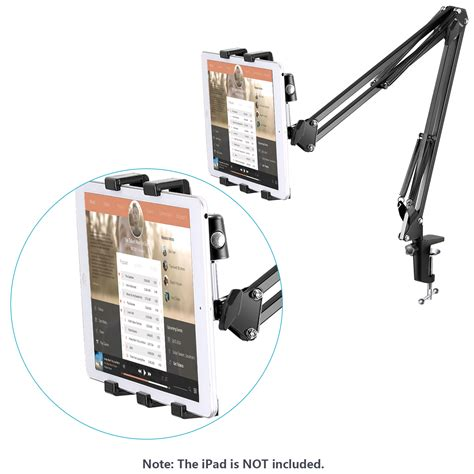 Stand Microphone Table With Smartphone Holder universal microphone stand kit for smartphone or