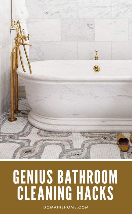 Bathtub Cleaning Tricks by Genius Bathroom Cleaning Tricks You Need To Housekeeping Loft And Salts
