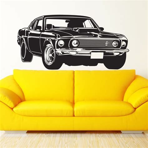Ford Mustang Home Decor popular mustang wall decals buy cheap mustang wall decals