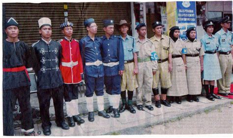 Pakaian Baju Istiadat Pdrm sukarelawan simpanan polis diraja malaysia baling sejarah pakaian anggota polis