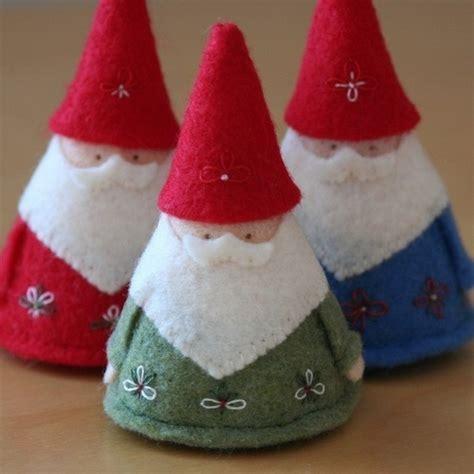 felt gnome pattern felt gnomes steiner pinterest
