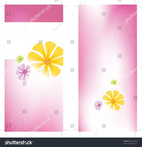 two sided rack card template jpeg 4x9 two sided rack card template stock photo 54752029