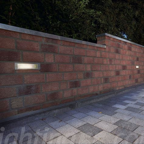 brick mesh outdoor wall light by slv lighting at