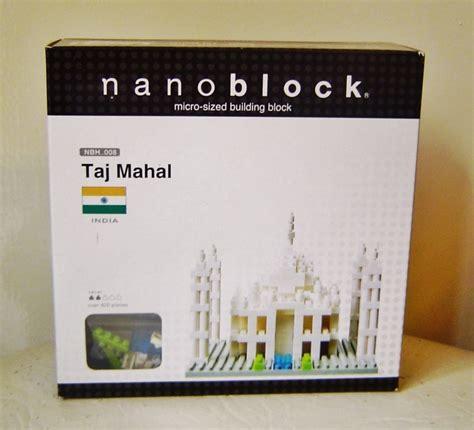 Nano Block Charmender Mainan Best Seller nanoblock taj mahal nano building blocks to see blocks