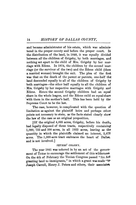 history of dallas county from 1837 to 1887 classic reprint books history of dallas county from 1837 to 1887 page