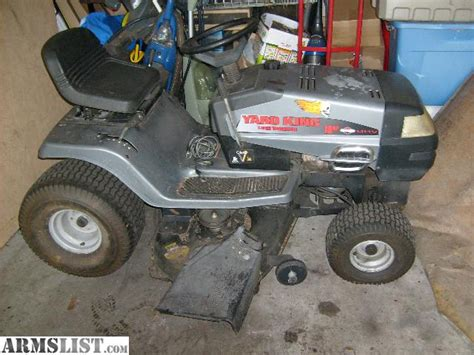 backyard king armslist for sale trade yard king riding mower