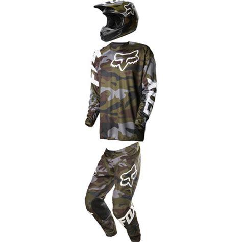 fox camo fox racing 2015 180 v1 pant jersey helmet combo camo