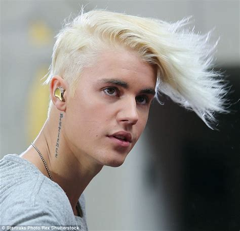 need a fresh new hairstyle im 21 yr old male justin bieber unveils bleach blond hair on today show
