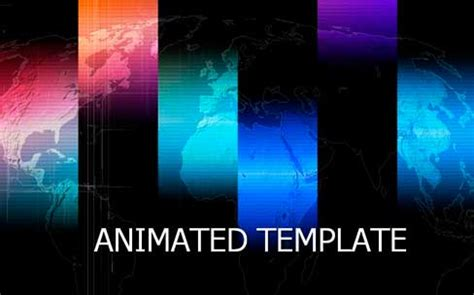 Area Of Uses Of Animated Powerpoint Presentations Free Animated Ppt Templates