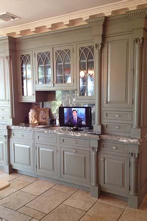 gothic kitchen cabinets gothic glass doors on server hutch packard cabinetry