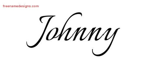tattoo johnny fonts johnny archives free name designs