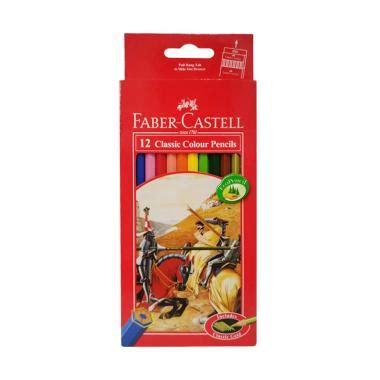 Pensil Warna Faber Castell Isi 12 Panjang Classic jual faber castell 12 classic colour pencils harga kualitas terjamin blibli