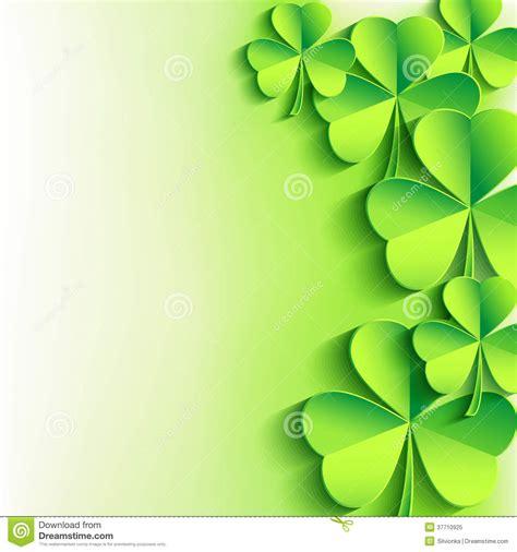 s day free novamov fundo do dia do st patricks o trevo verde da folha