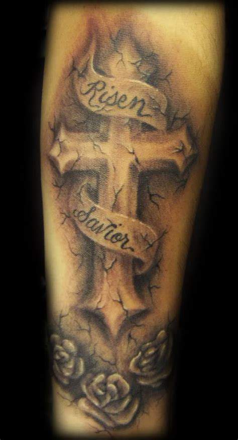 classic cross tattoos 35 christian tattoos on sleeve