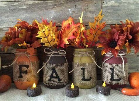 diy fall craft projects fall jars these are the best fall craft ideas