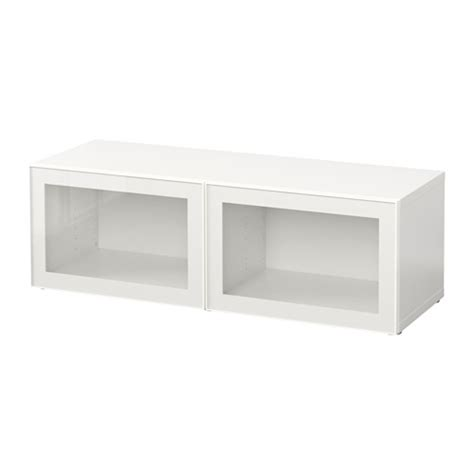 besta discontinued best 197 shelf unit with glass doors white glassvik white
