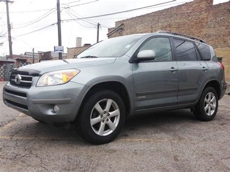 2007 Toyota Tires Find Used 2007 Toyota Rav4 Limited 4wd Suv Lock New