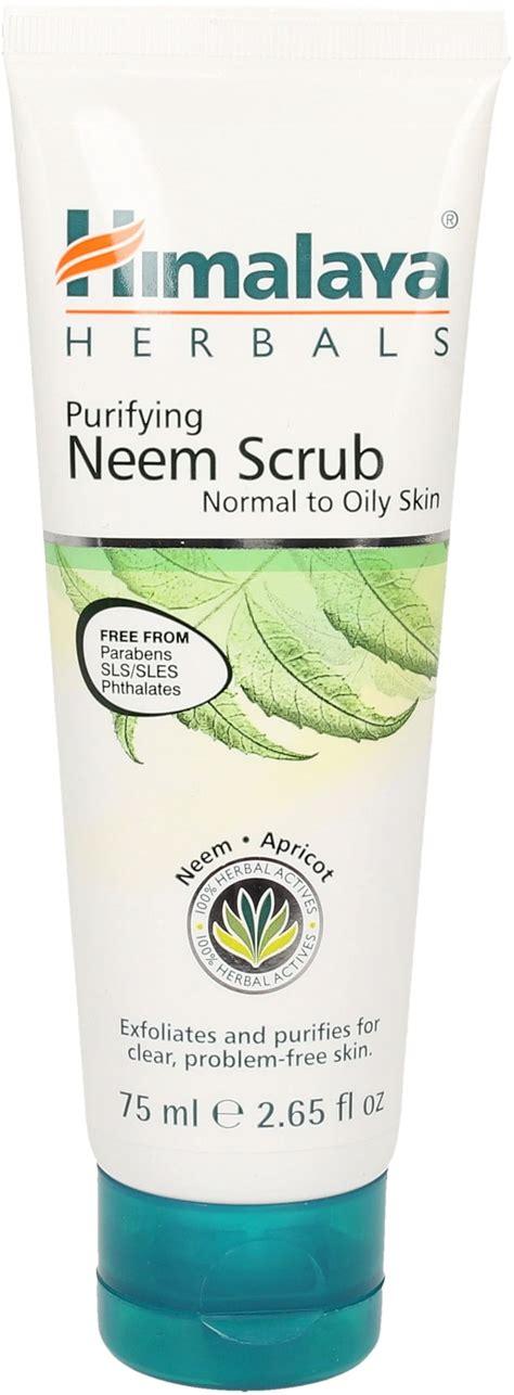 Himalaya Neem Scrub purifying neem scrub 75 ml ayurveda 101 deutschland
