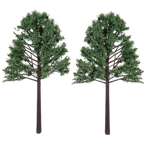 artificial palm tree for dollhouse diorama tree with flocked leaves 5 1 8 inches