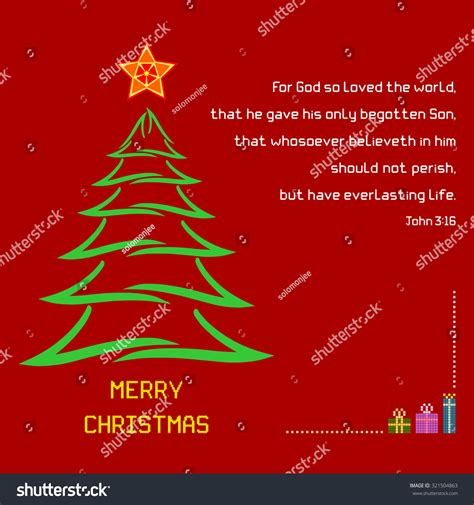 christmas holy bible vakyam pictures holy bible verse 316 stock vector 321504863
