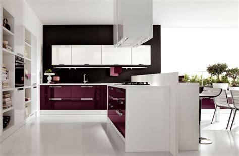modern furniture kitchen 23 inspirational purple interior designs you must see