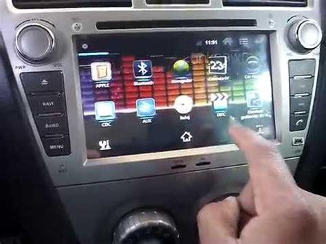 autoradio  toyota yaris youtube