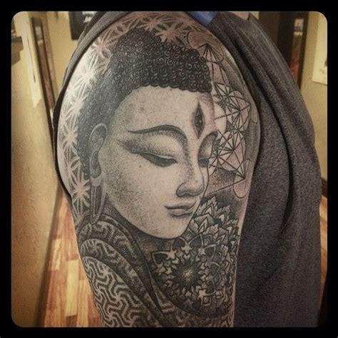 tattoo mandala buddha miahwaska cover up in progress sleeve buddha tattoo