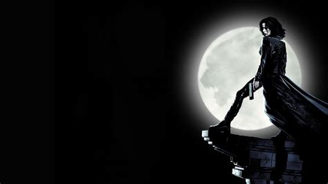 underworld film noir wallpaper shadow silhouette movies kate beckinsale