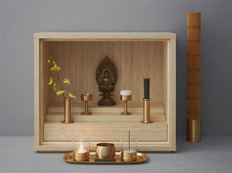 buddhist altar designs for home a new kind of buddhist altar for a changing japan wired