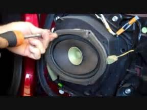 how to mazda mx 5 miata front bose speaker and tweeter