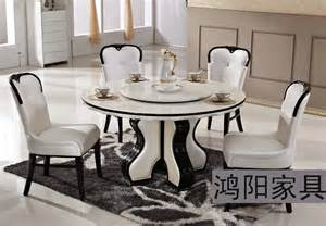 dining table pc solid wood dining table and chairs table turntable solid wood dining
