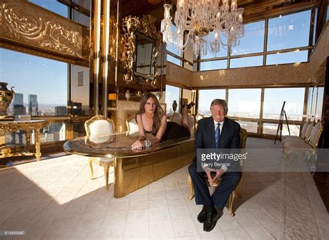 trumps home in trump tower entrepreneur donald trump and third wife melania trump are