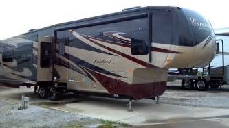 Forest River Travel Trailer Floor Plans 2012 cardinal 3550rl fifth 5th wheel premium travel