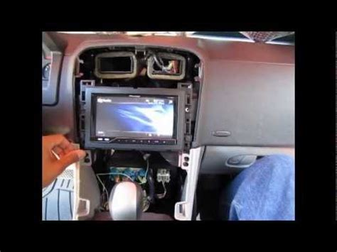 chevrolet equinox pioneer stereo install youtube