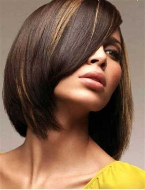 short hair cuts with dark brown color with carmel highlights 20 short hair color ideas short hairstyles 2017 2018