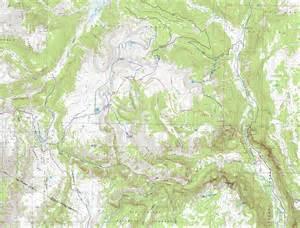 topo maps colorado free conejos peak south san juan wilderness colorado free