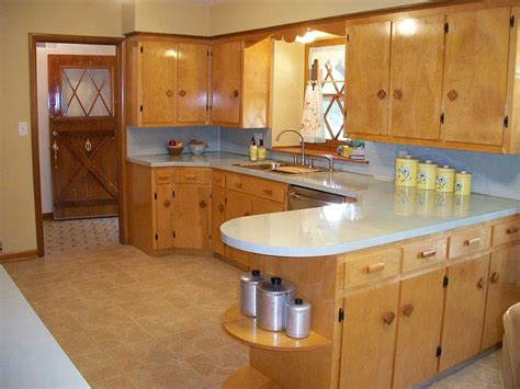 Retro Cabinets Kitchen A Family Rebuilds And Restores A 1953 Kitchen To Its Former Retro Renovation