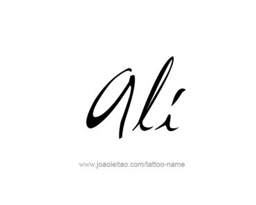tattoo name ali ali archives tattoos with names