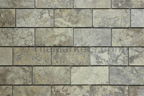 travertine subway tile silver 2x4 tilemarkets 174
