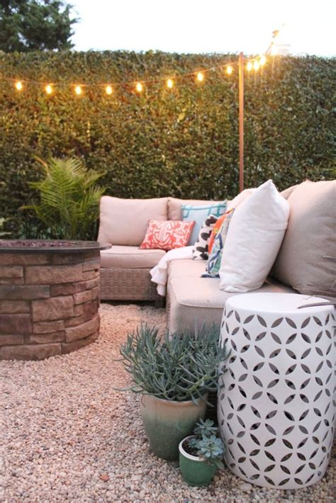 creating an outdoor patio create a diy pea gravel patio the easy way gravel patio