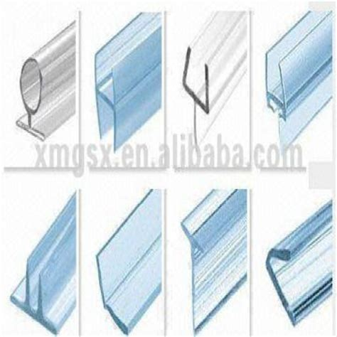 Shower Door Water Seal New Wholesale Heat Resistance Glass Shower Door Seal Elastic Water Stop Synthetic