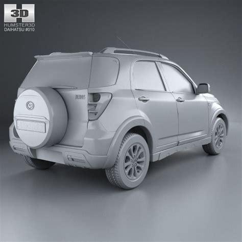 Buffer Daihatsu Terios S D Th 2008 Set daihatsu terios 2013 3d model max obj 3ds fbx c4d lwo lw lws cgtrader