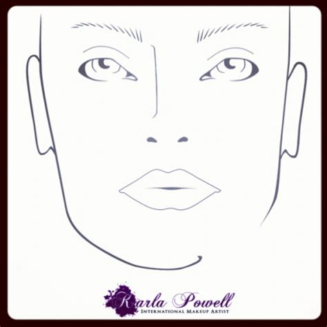 makeup design template make up artists on