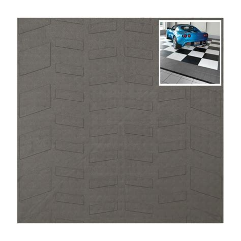 Interlocking Garage Floor Tiles Interlocking Garage Floor Tiles Tire Tread Set Of 40 In Garage Floor Protection