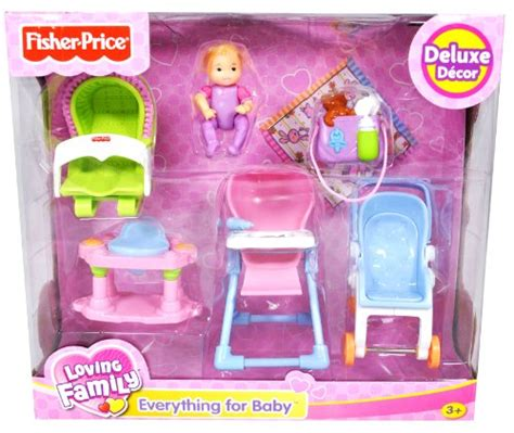 Fisher Price Loving Family Everything Loving Family Dollhouse