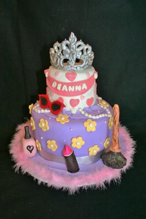 Fancy Birthday Cakes by Fancy Nancy Birthday Cake Cakecentral
