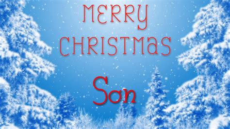 merry christmas son  special message    youtube