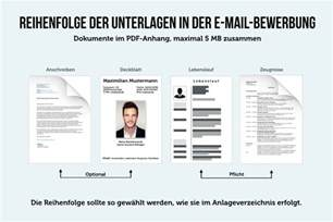 Email Bewerbung Anlagen Reihenfolge E Mail Bewerbung 10 Tipps Wie Sie Diese Schreiben